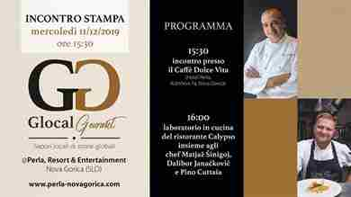 Glocal Gourmet 2019 fa tappa al Perla Resort & Entertainment