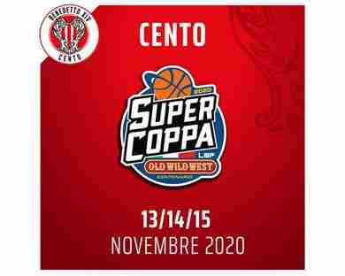 A Cento la Final Eight di Supercoppa