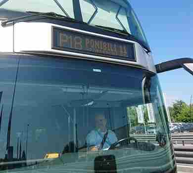 Trasporti, a Pordenone bus 'intelligenti': sul display i posti disponibili a bordo
