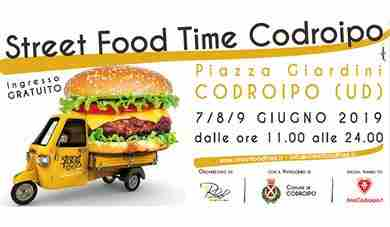 A Codroipo arriva Street Food Time